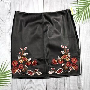 Romeo & Juliet Couture Embroidered Skirt